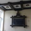 Инсталляция для ТВ и потолка массив дуба