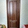 дверь из натурального дерева цвет палисандр