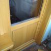 балконная евродверь цвет сосна стеклопакет 24 мм
