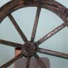 Декоративное колесо состаренная сосна
