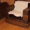 Кресло викинг состаренная сосна